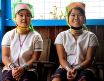 Burmese ring neck women