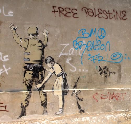 Bethlehem, Banksy Graffiti